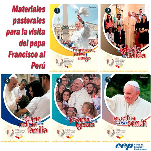 Materiales visita papa Francisco