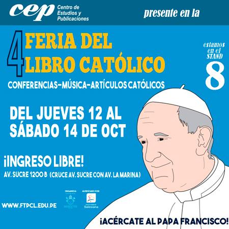 Cep en Feria del libro catolico