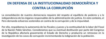 Sociedad civil defensa de la democracia